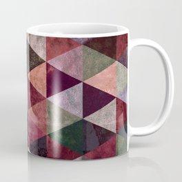 Abstract #480 Grunge Triangles #2 Coffee Mug