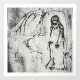 Untitled Sketch by Vladimir Karabegov Art Print