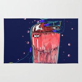 Bad Brew Pink Jinx Rug