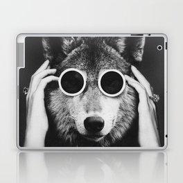 Wolf Glam Laptop & iPad Skin