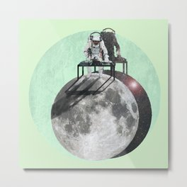 Float the Beat Metal Print