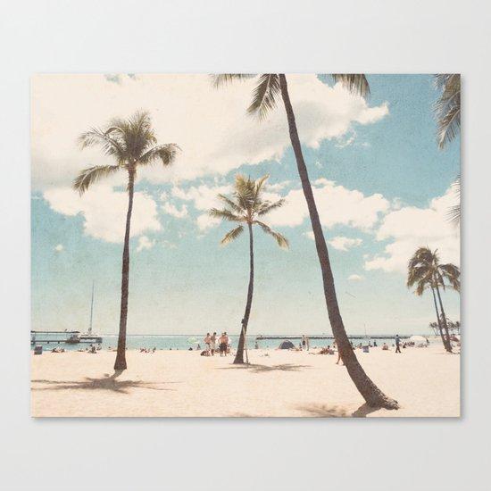 Waikiki Canvas Print