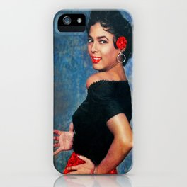 Dorothy Dandridge Ruby Sparkle iPhone Case