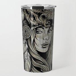 Spirit of the Buffalo Travel Mug