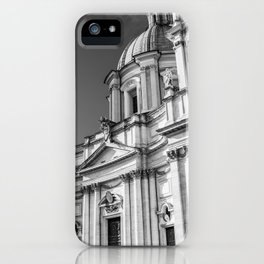 Piazza Navona, the ancient Stadium of Domitian, in Rome, Italy. iPhone Case