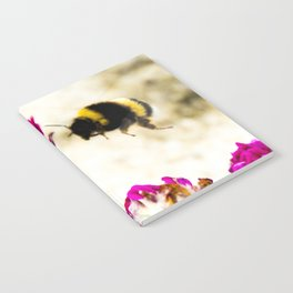 the flight of bumble bee on the dunes I Notebook