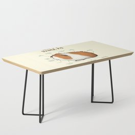 Anatomy of a Guinea Pig Coffee Table