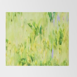 Flower Delivery - Flowers That Last A Life Time Throw Blanket