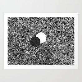 The Bottomless Hole Art Print