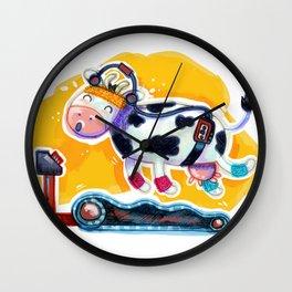 Fat Free Milk Wall Clock