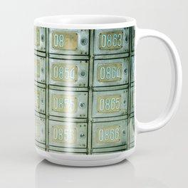 PO boxes Coffee Mug