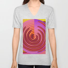 Play with baguettes ... Unisex V-Neck