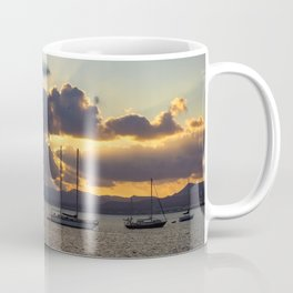 Dramatic Sunset Sky at Arrecife, Lanzarote Coffee Mug