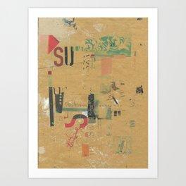 sedimenti 21 Art Print