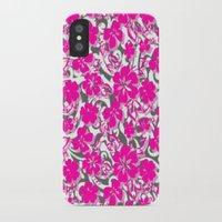 flower pattern iPhone & iPod Cases featuring Flower Pattern  by Sammycrafts