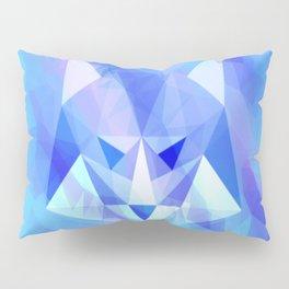 Geometric Wolf Pillow Sham