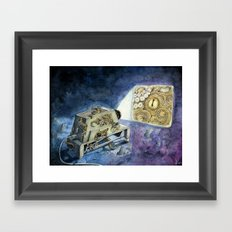 About kraken & movies Framed Art Print