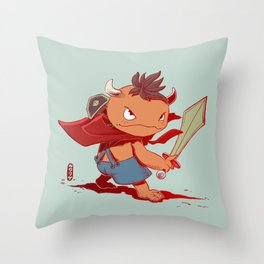 Mite Throw Pillow