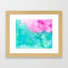 Galaxies & Seas Framed Art Print
