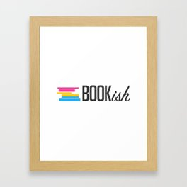 Pansexual, Bookish, and Proud Framed Art Print