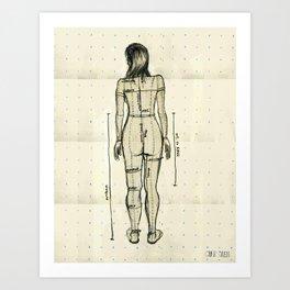 Dress Form Art Print