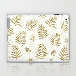 Gold Autumn Leaves Laptop & iPad Skin