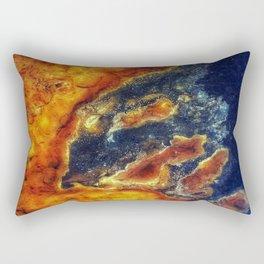Earth Art Cave Ceiling Rectangular Pillow