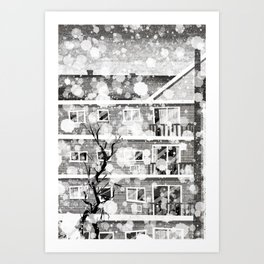 Places I've Lived Series - 7 Art Print