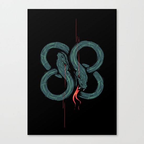 Eighty 8 Canvas Print