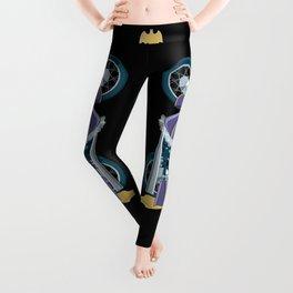 Batgirl's bike Leggings