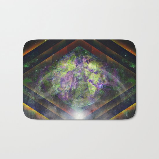 Parallel Worlds Bath Mat