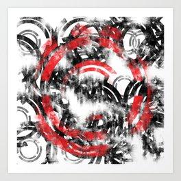 Grudge BG logo Art Print