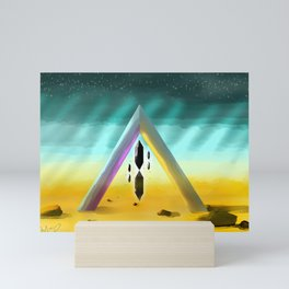 Crystal Portal Mini Art Print