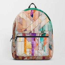 Pastel Tile Mosiac 1 Backpack