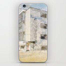 Bauhaus Building, Dessau Germany iPhone Skin
