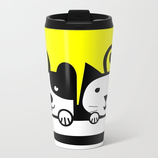 MY PETS 02 Metal Travel Mug