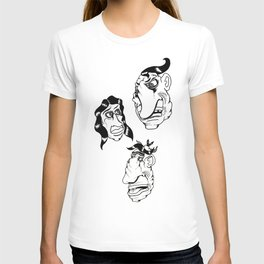 Look back T-shirt