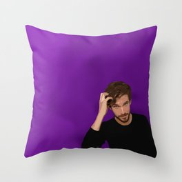Dan Stevens Throw Pillow