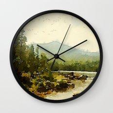 Baxter State Park Wall Clock