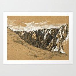 Lochnagar Art Print