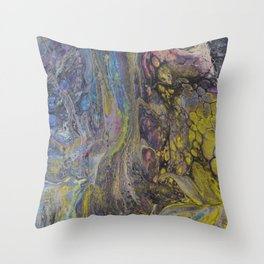 Fairy Roots in Ostrow Woods Throw Pillow