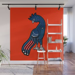 Standing Black Cockatoo 2018 Wall Mural