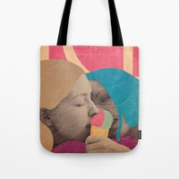 ice cream Tote Bags featuring ice cream by Marco Puccini