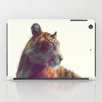 kurt cobain iPad Cases featuring Tiger // Solace by Amy Hamilton