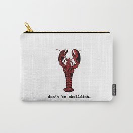 Selfish Lobster Carry-All Pouch