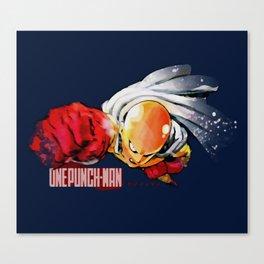 One Punch Man - Saitama Canvas Print