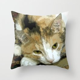 My book Collection Peanut & Lily Throw Pillow