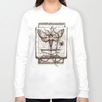 science Long Sleeve T-shirts featuring Science by Ulla Thynell