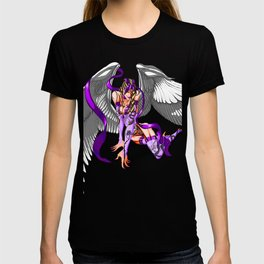 Lilith Violet Touch, The Purple Angel T-shirt