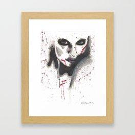 Provocation Framed Art Print
